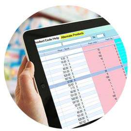 generic drug search in pharmacy retail software