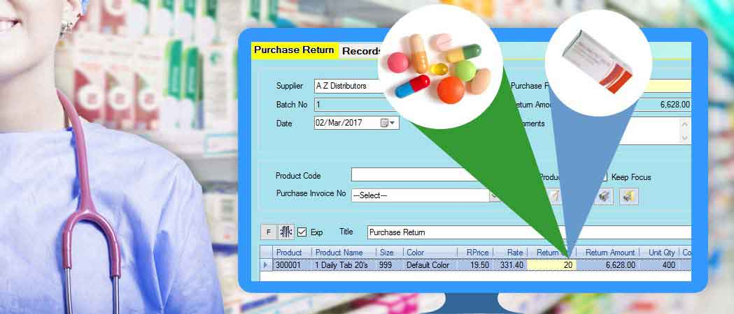 Inventory Management in Packs and Loose Quantity in pharmacy